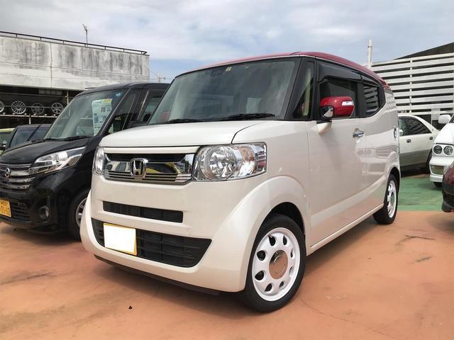 沖縄県の中古車ならN-BOXスラッシュ X ナビ TV ドラレコ