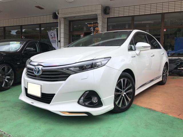 トヨタ SAI G モデリスタエアロ 純正ナビ TV