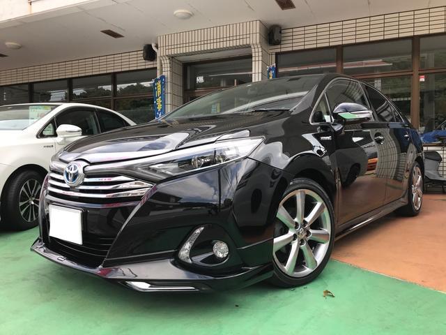 沖縄の中古車 トヨタ SAI 車両価格 149万円 リ済別 2014(平成26)年 8.9万km ブラック