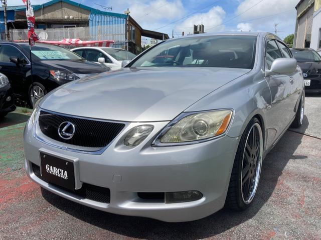 沖縄の中古車 レクサス GS 車両価格 69万円 リ済込 2005(平成17)年 10.1万km シルバー