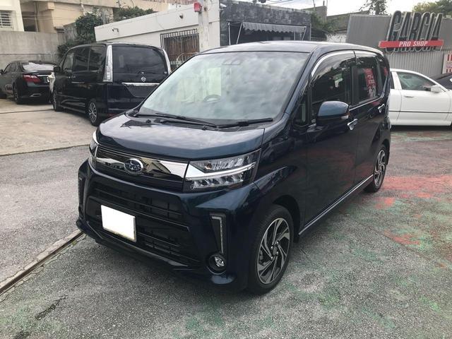 沖縄の中古車 スバル ステラ 車両価格 139万円 リ済込 2018(平成30)年 0.2万km モスグリーン