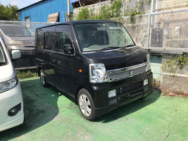 沖縄県の中古車ならエブリイワゴン PZターボスペシャル 両側パワースライドドア HDDナビ