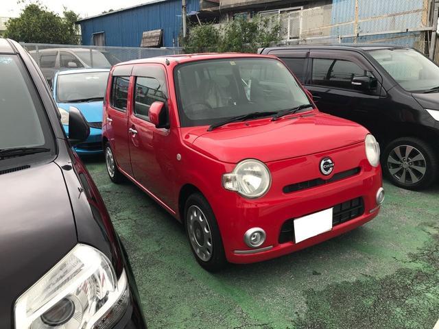沖縄県の中古車ならミラココア ココアX CD スマートキー ベンチシート 禁煙車 ABS