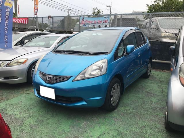 沖縄県の中古車ならフィット L Wエアバック ABS キーレス 純正フルエアロ