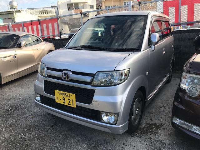 沖縄県の中古車ならゼスト スポーツG ナビ 純正フルエアロ 電格ミラー