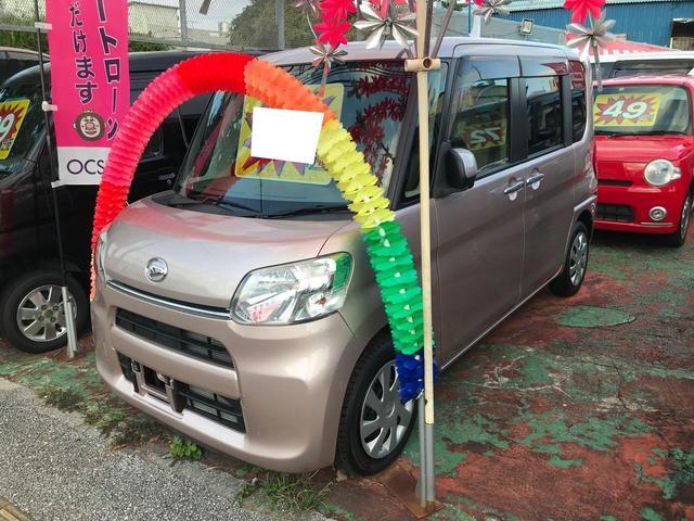 沖縄県宜野湾市の中古車ならタント X 左側パワースライドドア アイドリングストップ HID
