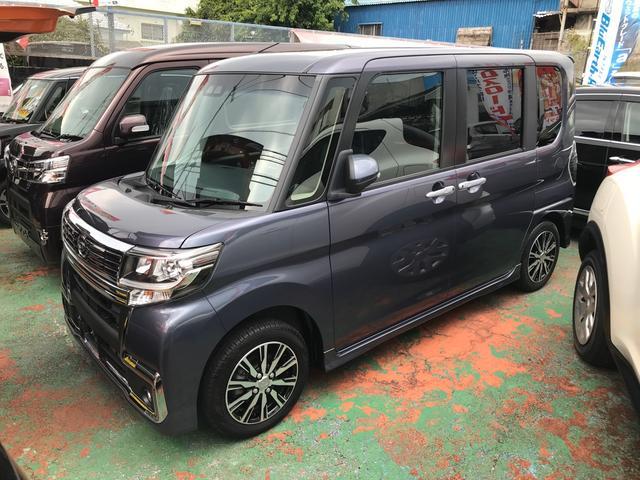 沖縄県の中古車ならタント カスタムX トップエディションSAIII HDDナビ TV
