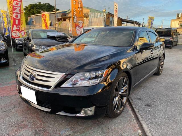 沖縄の中古車 レクサス LS 車両価格 169万円 リ済込 2010(平成22)年 9.7万km ブラック