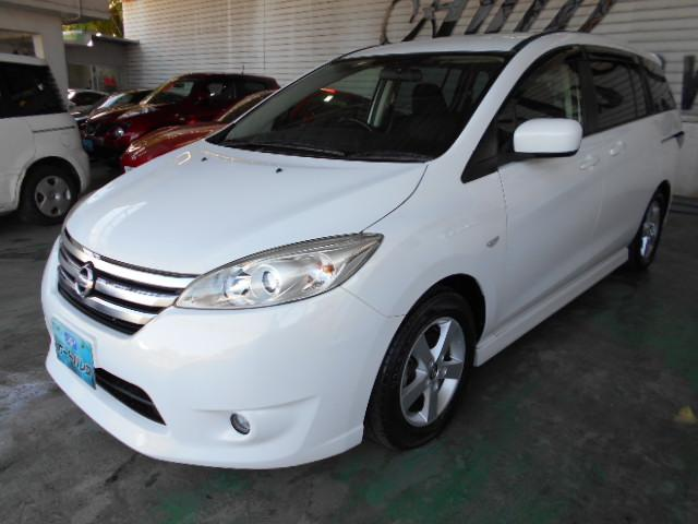 沖縄の中古車 日産 ラフェスタ 車両価格 95万円 リ済込 平成25年 5.5万km パールホワイト