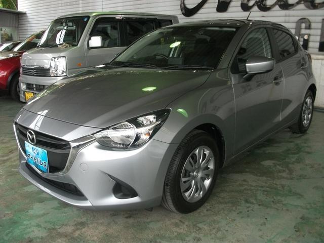 沖縄の中古車 マツダ デミオ 車両価格 102万円 リ済込 平成27年 2.7万km ガンM