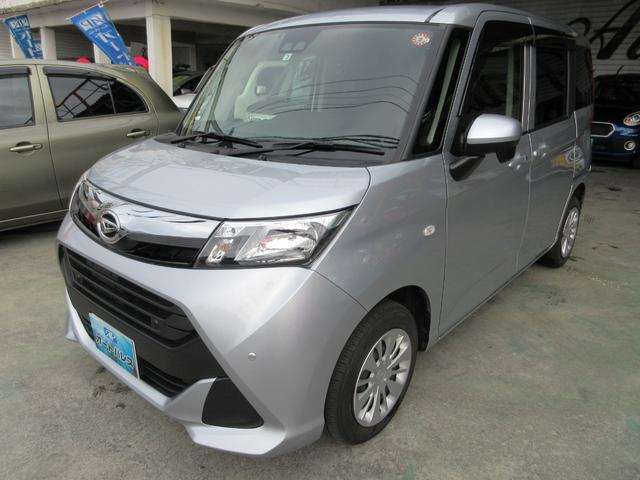 沖縄県宜野湾市の中古車ならトール X SAIII レーダーブレーキサポート装備