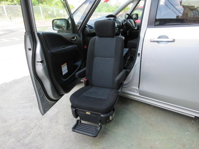 日産 セレナ 20X S-ハイブリッド 助手席スライドアップシート