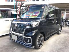 沖縄の中古車 スズキ スペーシアカスタム 車両価格 169万円 リ未 新車  ブラックM