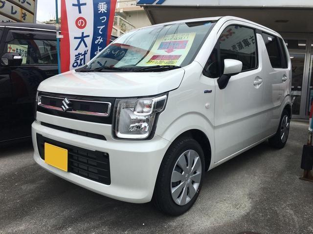 沖縄の中古車 スズキ ワゴンR 車両価格 113万円 リ済込 平成30年 10km パール
