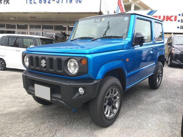 沖縄の中古車 スズキ ジムニー 車両価格 178万円 リ済込 新車  ブルーII
