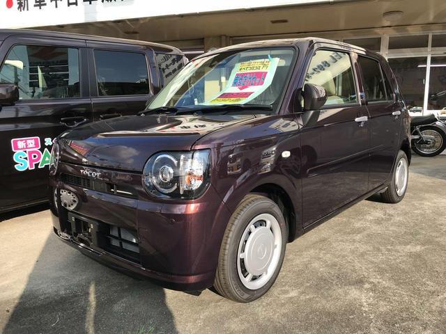 沖縄の中古車 ダイハツ ミラトコット 車両価格 114万円 リ済込 平成30年 8km ブラウン