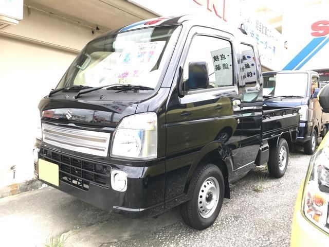 沖縄の中古車 スズキ キャリイトラック 車両価格 125万円 リ未 新車  ノクターンブルーパール