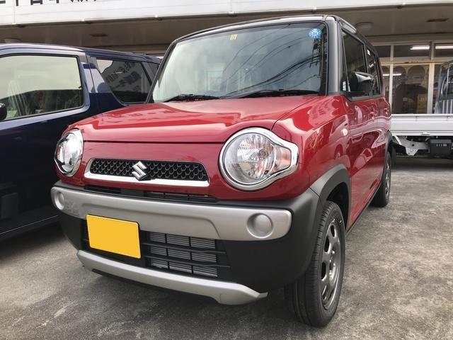 沖縄の中古車 スズキ ハスラー 車両価格 124万円 リ未 新車  レッドII