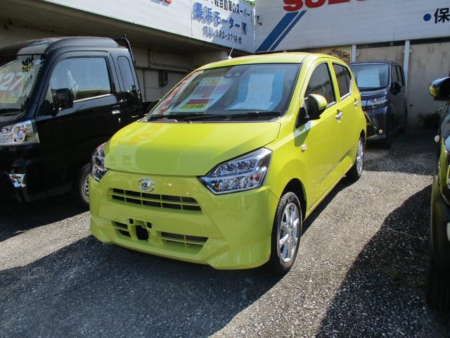 沖縄の中古車 ダイハツ ミライース 車両価格 120.9万円 リ済別 新車  イエロー