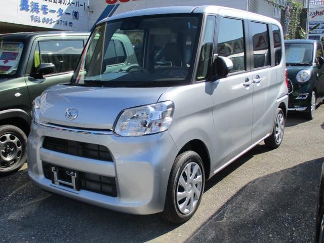 沖縄の中古車 ダイハツ タント 車両価格 142万円 リ済別 新車  シルバーM