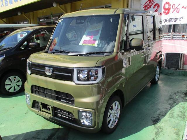 沖縄の中古車 ダイハツ ウェイク 車両価格 161.4万円 リ済別 新車  グリーングレーM