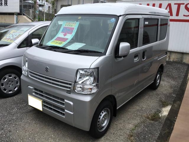 沖縄の中古車 スズキ エブリイ 車両価格 113.8万円 リ済込 平成30年 8km シルバーM