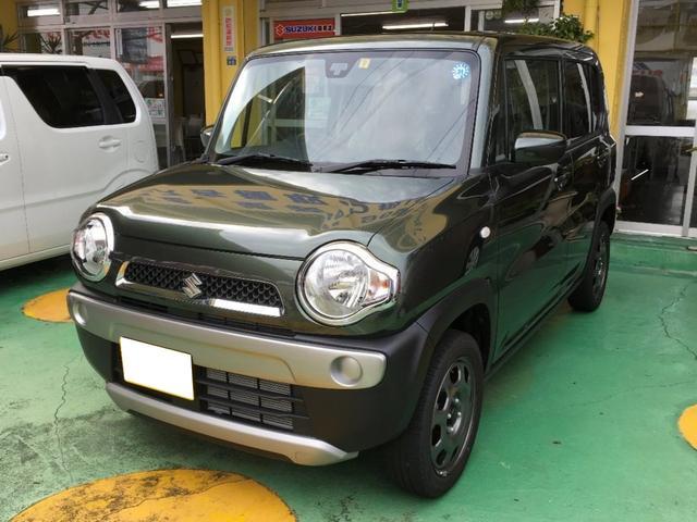沖縄の中古車 スズキ ハスラー 車両価格 133万円 リ済別 新車  DグリーンM