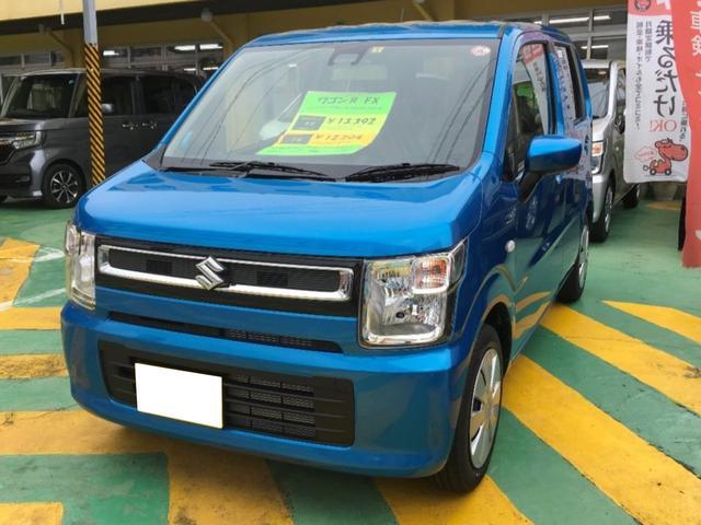 沖縄の中古車 スズキ ワゴンR 車両価格 128万円 リ済別 新車  ブルーM