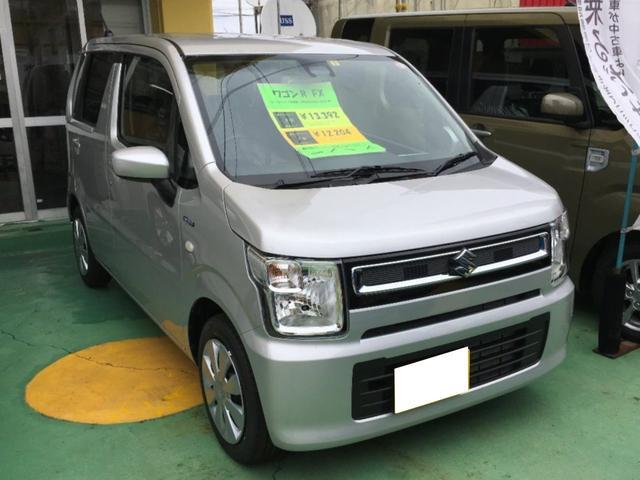 沖縄の中古車 スズキ ワゴンR 車両価格 128万円 リ済別 新車  シルバーM
