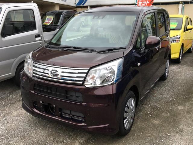沖縄の中古車 ダイハツ ムーヴ 車両価格 114万円 リ済別 新車  DブラウンM