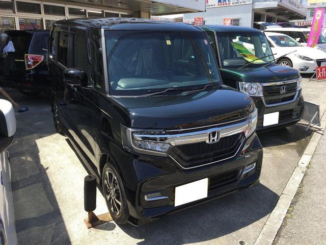沖縄の中古車 ホンダ N-BOXカスタム 車両価格 169万円 リ済込 新車  ブラック