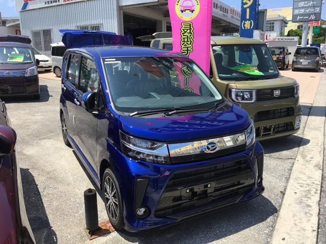 沖縄の中古車 ダイハツ ムーヴ 車両価格 149万円 リ済込 新車  ブルー