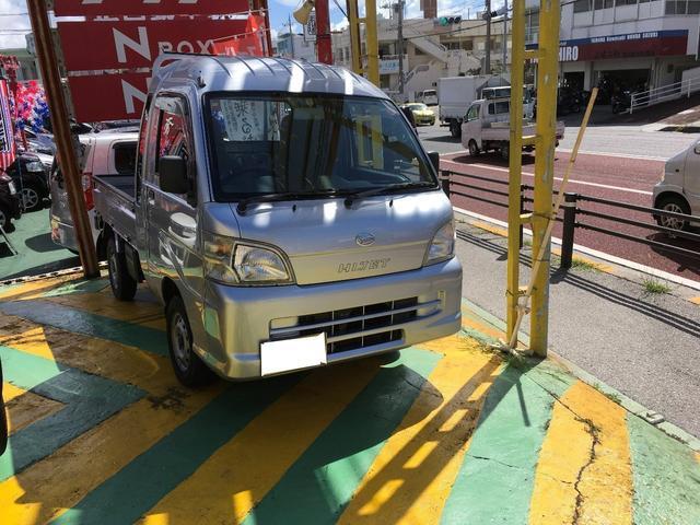 沖縄の中古車 ダイハツ ハイゼットトラック 車両価格 89万円 リ済込 2013(平成25)年 0.4万km グレーM
