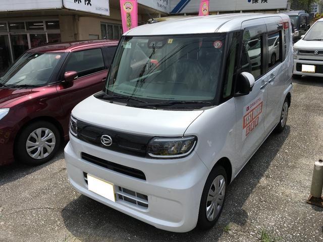 沖縄の中古車 ダイハツ タント 車両価格 146万円 リ済込 新車  パールM
