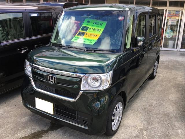 沖縄県の中古車ならN-BOX G・Lホンダセンシング 届出済み未使用車