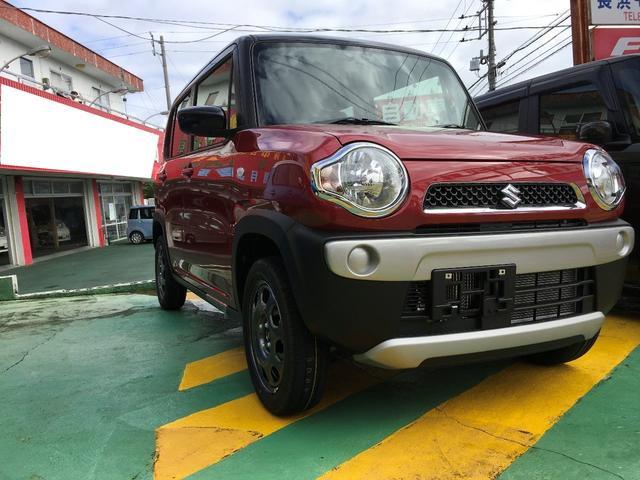 沖縄の中古車 スズキ ハスラー 車両価格 135万円 リ済込 2019(令和1)年 10km レッドII