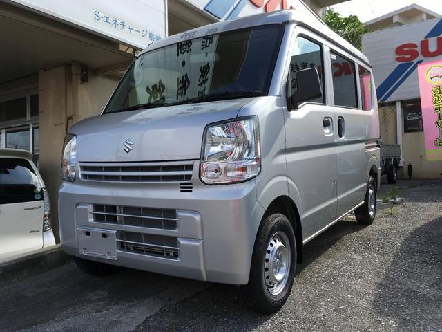 沖縄の中古車 スズキ エブリイ 車両価格 108万円 リ済込 新車  シルバー