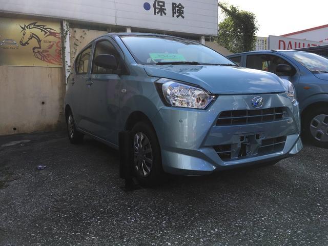 沖縄の中古車 ダイハツ ミライース 車両価格 96万円 リ済込 新車  ブルーM