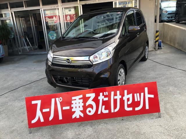 沖縄の中古車 日産 デイズ 車両価格 99万円 リ済込 2018(平成30)年 2.0万km DブラウンM
