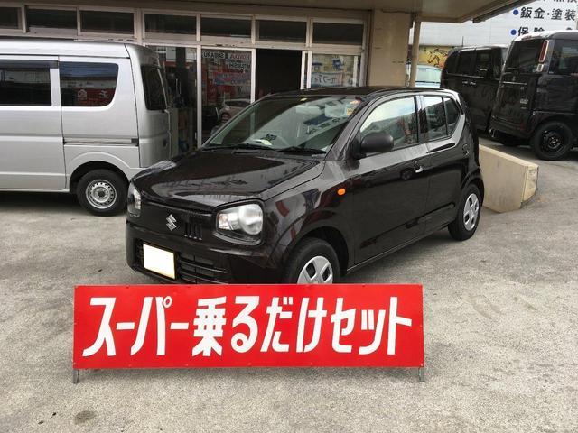 沖縄の中古車 スズキ アルト 車両価格 74万円 リ済込 2018(平成30)年 1.0万km Dブラウン