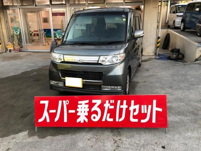 沖縄の中古車 ダイハツ タント 車両価格 29万円 リ済込 2010(平成22)年 14.4万km ガンM
