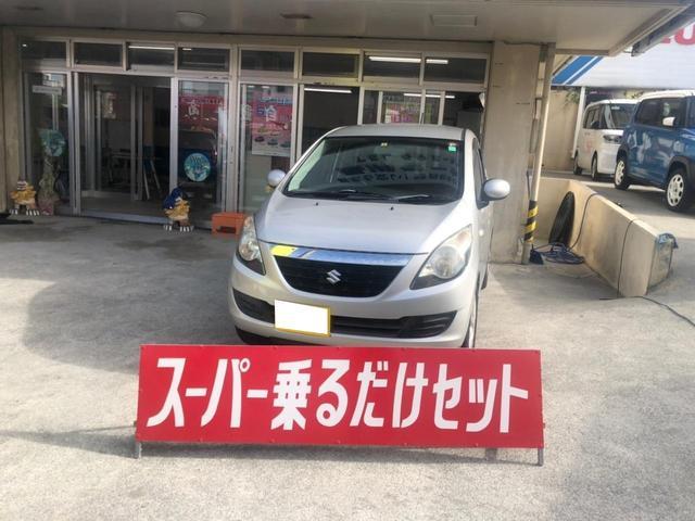 沖縄の中古車 スズキ セルボ 車両価格 29万円 リ済込 2007(平成19)年 9.2万km シルバー