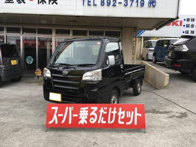 沖縄の中古車 ダイハツ ハイゼットトラック 車両価格 59万円 リ済込 2016(平成28)年 2.1万km ブラック