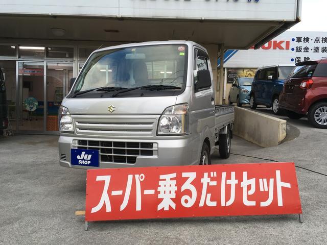 沖縄の中古車 スズキ キャリイトラック 車両価格 49万円 リ済込 2015(平成27)年 3.1万km シルバー