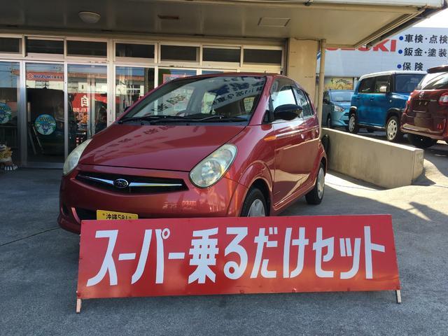 沖縄の中古車 スバル R2 車両価格 19万円 リ済込 2007(平成19)年 12.0万km レッド