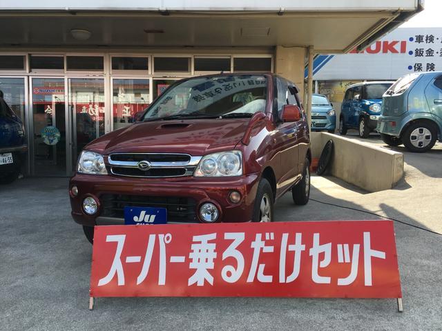 沖縄の中古車 ダイハツ テリオスキッド 車両価格 34万円 リ済込 2009(平成21)年 6.0万km レッド