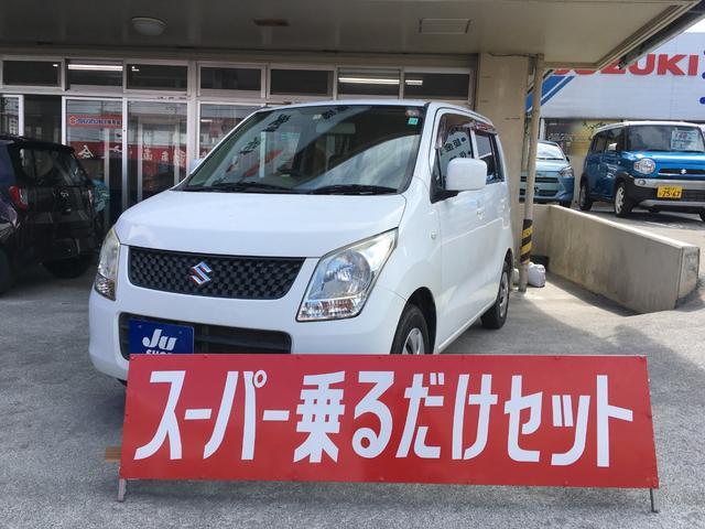 沖縄の中古車 スズキ ワゴンR 車両価格 24万円 リ済込 2009(平成21)年 12.0万km ホワイト