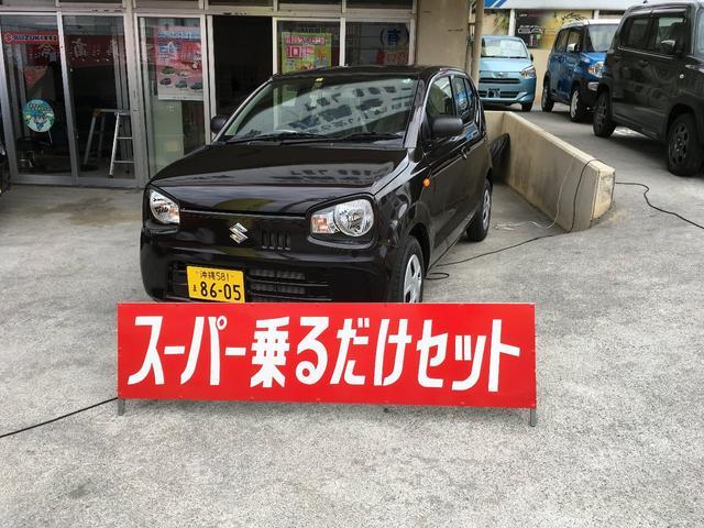 沖縄の中古車 スズキ アルト 車両価格 96万円 リ済別 新車  ブラウンM