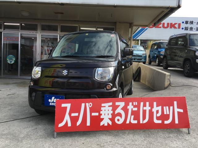 沖縄の中古車 スズキ MRワゴン 車両価格 59万円 リ済込 2015(平成27)年 8.2万km ブラウン