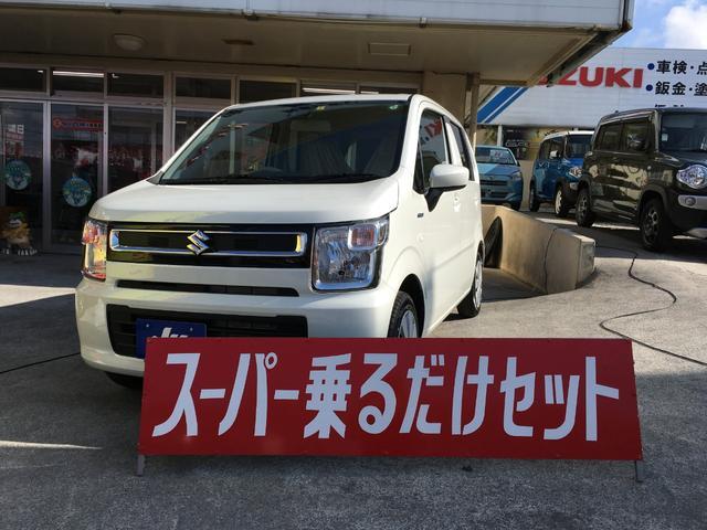 沖縄県宜野湾市の中古車ならワゴンR ハイブリッドFX